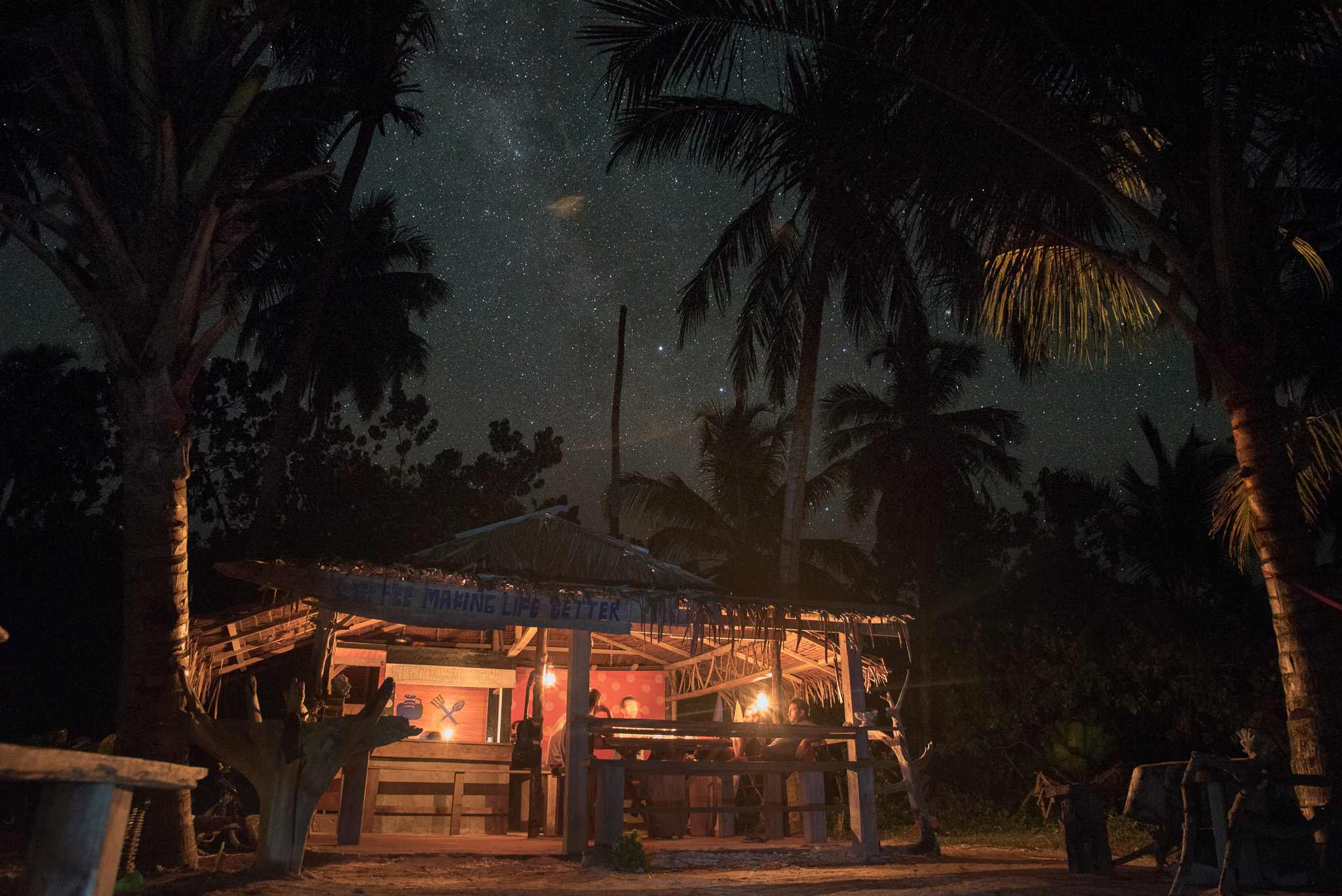 Mentawai night stars